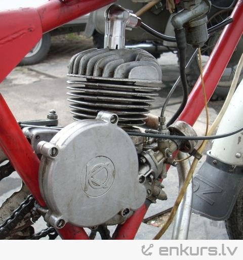 Как получить искру на скутере без рамы 64