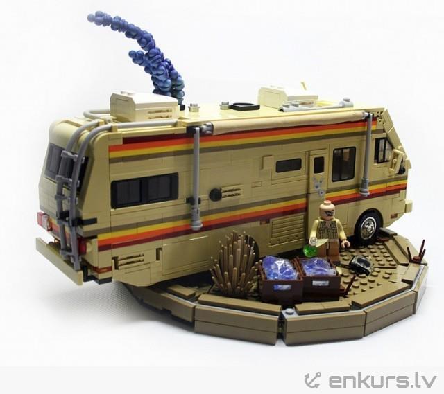Lego mobilā metamfetamīna laboratorija