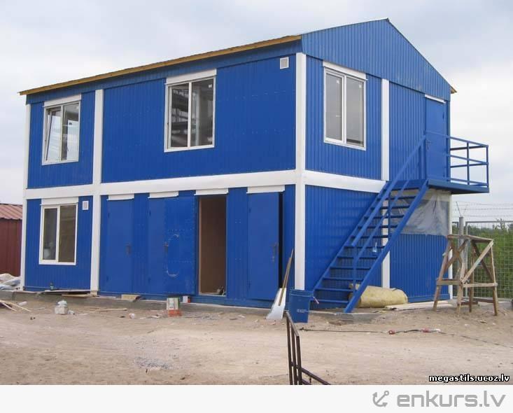māja no konteineriem