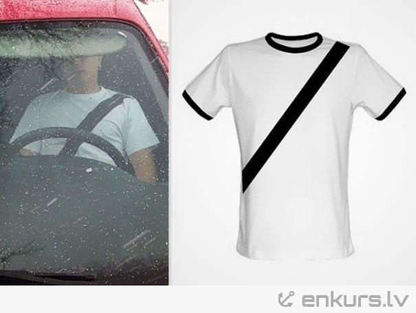 T-krekls šoferiem