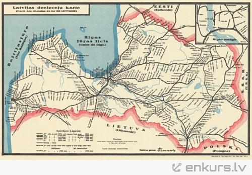 Latvijas dzelzceļi toreiz un tagad
