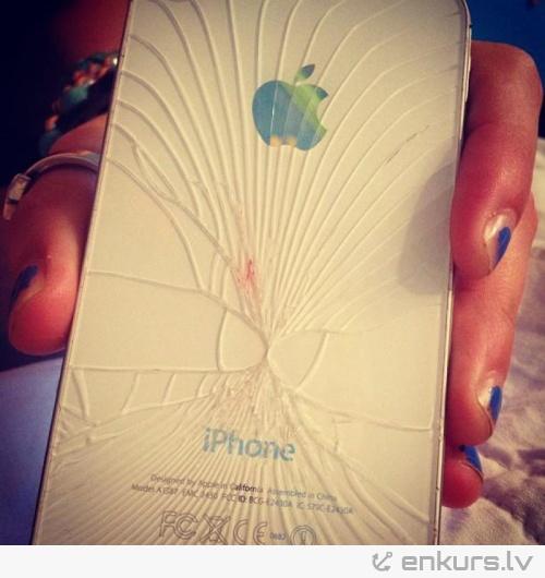 Tā plīst iPhone