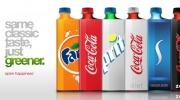 Jaunais Coca Cola Eco pudeļu dizains