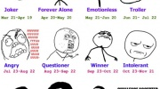 Kas esi tu, pēc Meme horoskopa?