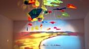 Māksla no krāsainiem stikliņiem