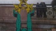 No Daugavas izvilktais brīvības piemineklis