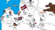 Patriotiska Latvijas karte