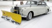 Sniega tīrītājs tiem, kas nevar atļauties traktoru